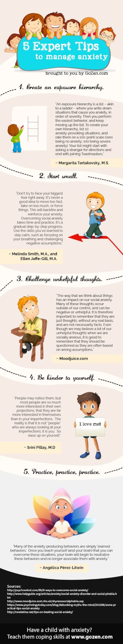 Tips to Overcome Child Anxiety